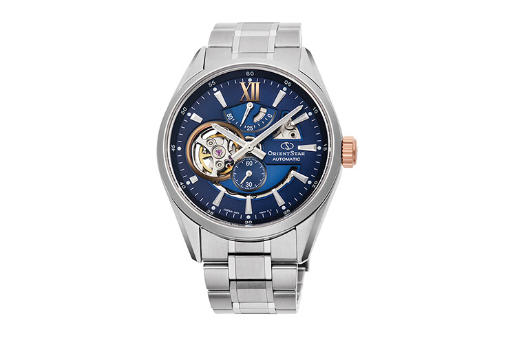 Reloj Automático hombre Orient Star RE-AV0116L dial azul 41mm cristal zafiro correa acero Limited Edition