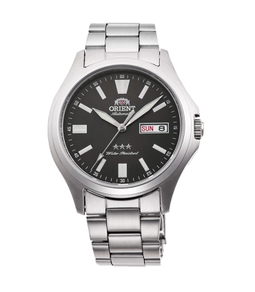 Reloj Automático Hombre Orient Tristar RA-AB0F10N dial gris acero