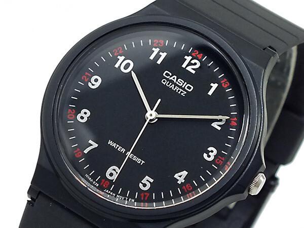 Reloj clásico hombre Casio MQ-24-1BL dial negro water resist