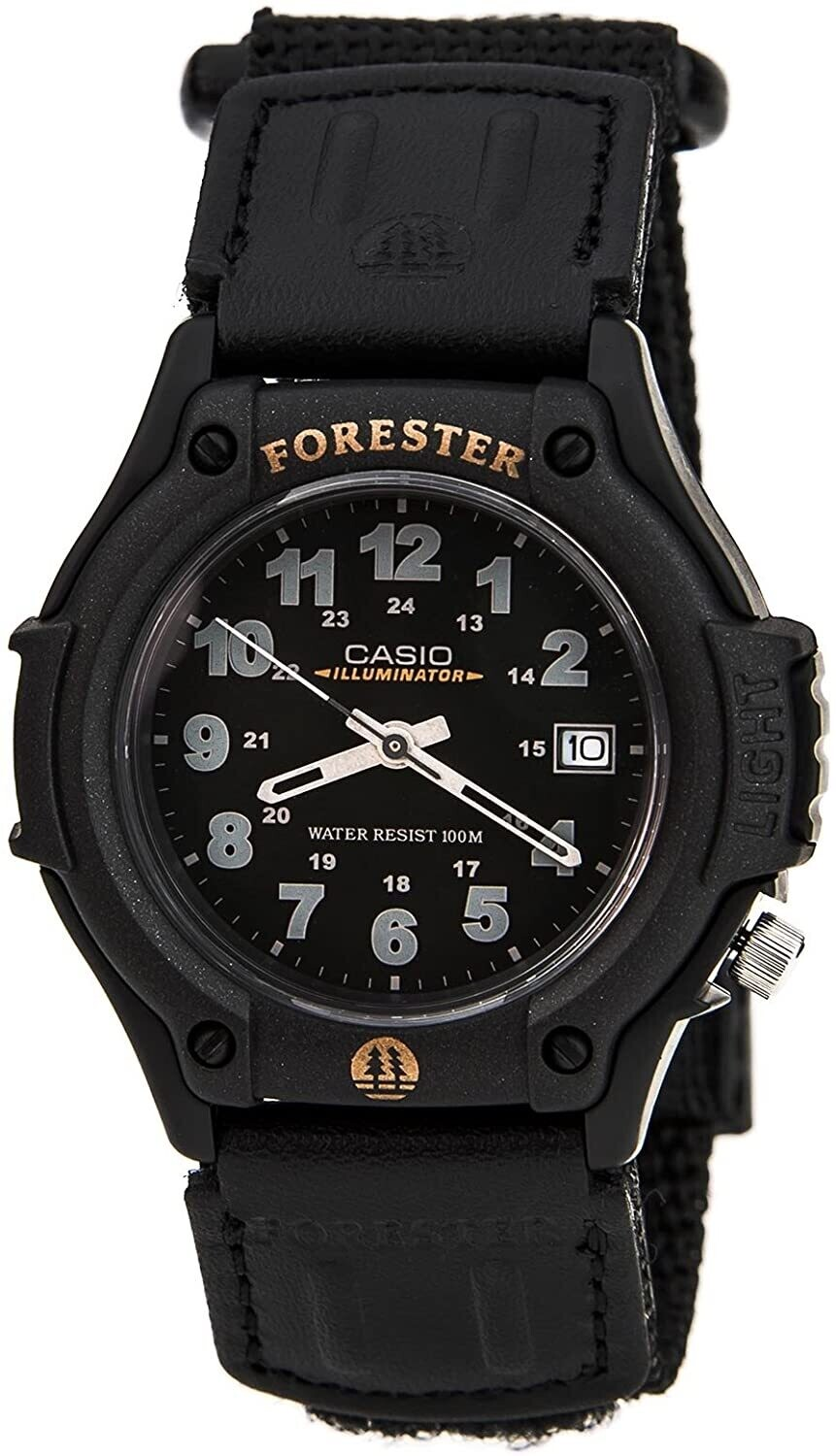 reloj deportivo hombre Casio Forester FT-500WVB-1B water resist Luz Led