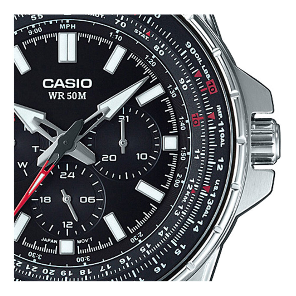 Reloj analógico CASIO MTP-SW320D-1AV función CALENDARIO