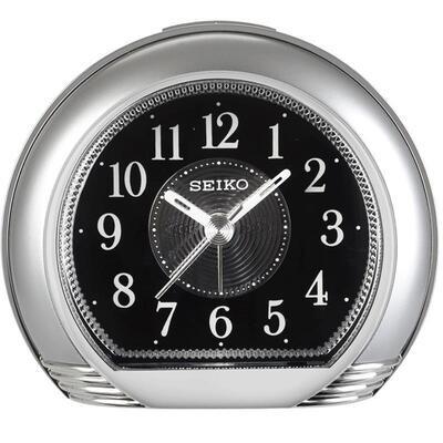 Reloj despertador Seiko QHE119S Movimiento Continuo Silencioso Beep Alarm