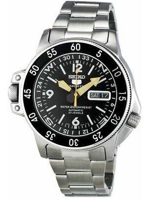 Reloj Automático hombre Seiko Atlas Land Shark SKZ211K1 correa acero 200m WR
