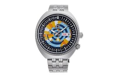 Reloj automático hombre Orient RA-AA0E04Y Revival World Map Automatic Limited Edition 43.5mm dial correa acero 200m water resist