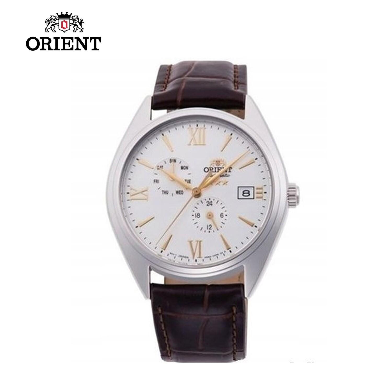 Reloj automático hombre Orient Altair RA-AK0508S dial blanco 39.5mm correa cuero