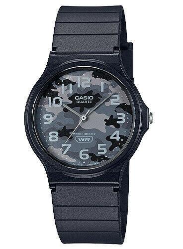 reloj hombre Casio MQ24-8C camuflaje clásico correa resina