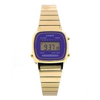 Reloj digital con cronógrafo de alarma Casio la670wga-6d