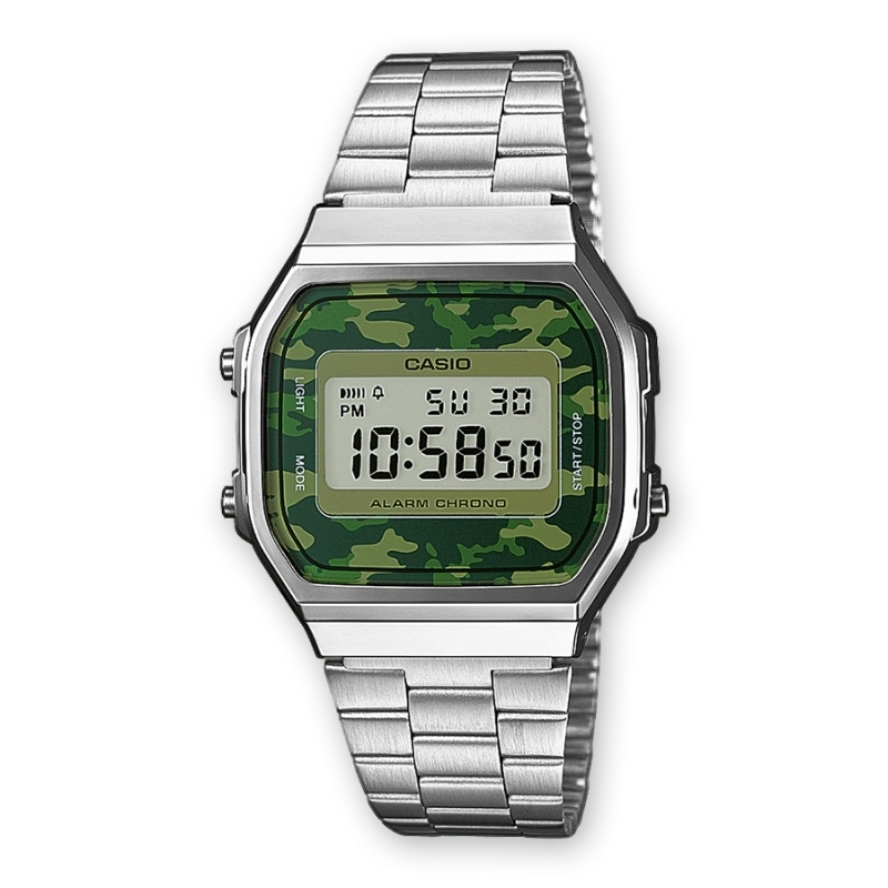 CASIO Colection Camouflage A168WEC-3e