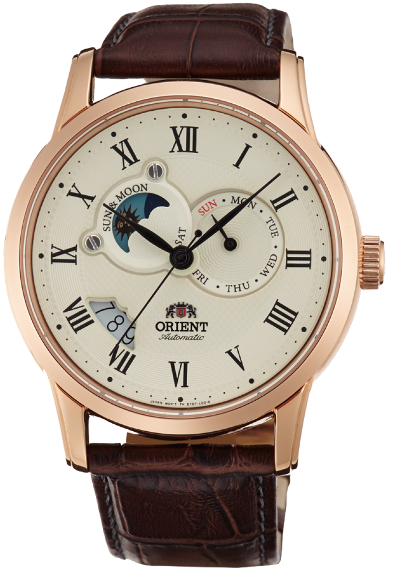Reloj Orient FET0T001W Executive Sun and Moon