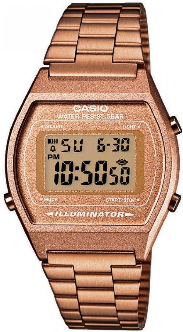 Reloj Retro casio collection B640WC-5A bronce retro