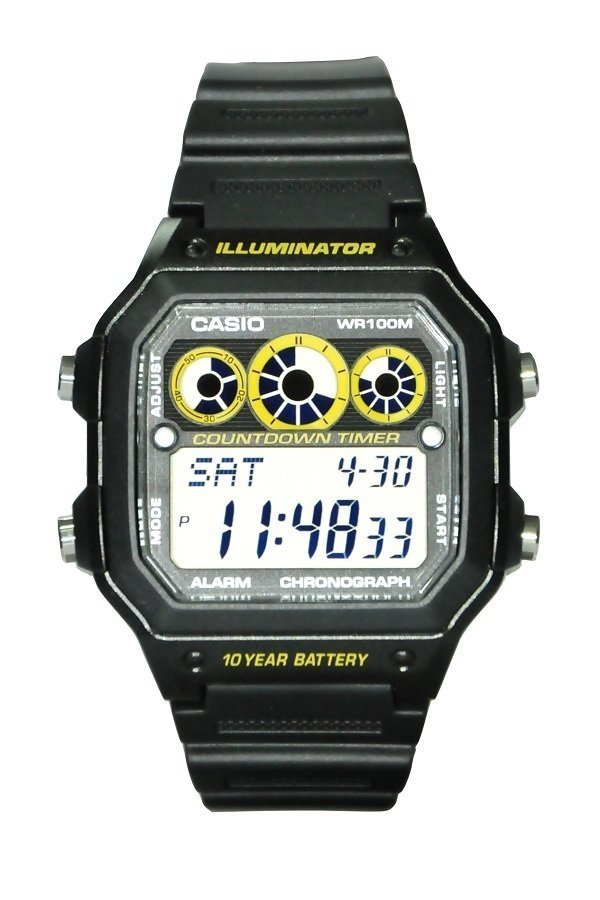 Reloj digital CASIO AE-1300WH-1av