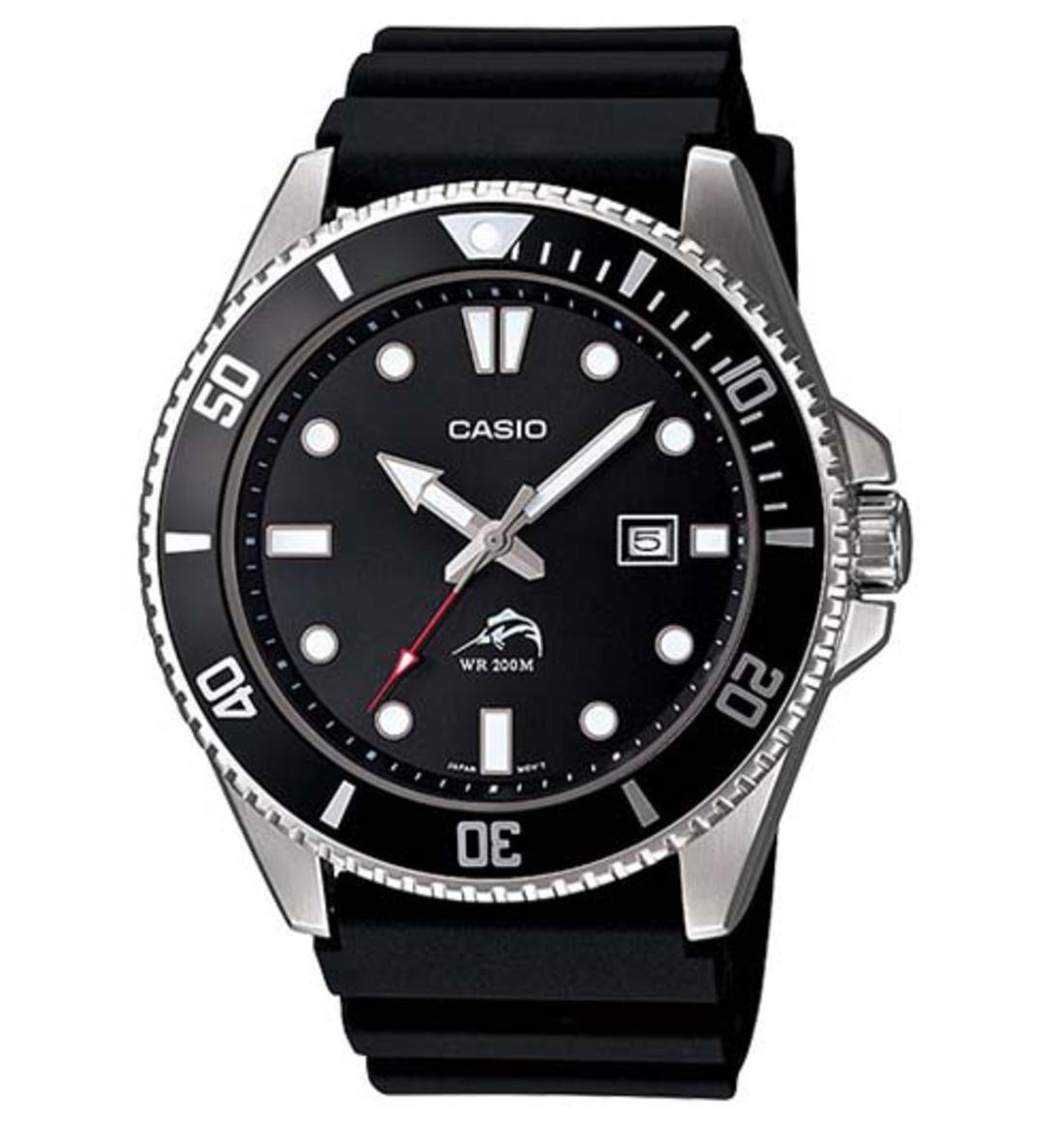 Reloj hombre buceo Casio MDV-106-1A