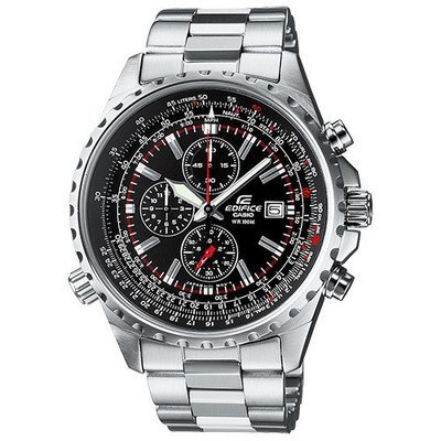 Reloj hombre CASIO EF-527D-1AV Edifice 100M Stainless Steel Chronograph Date Sport Watch