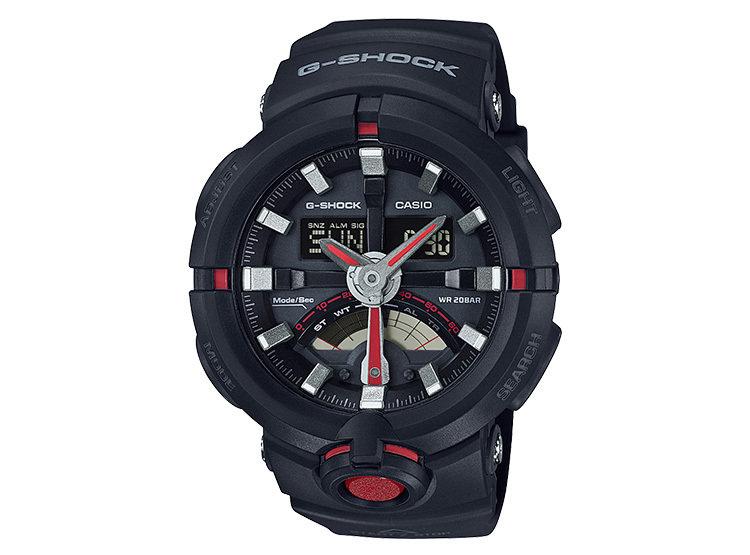 reloj hombre Casio G-SHOCK GA-500-1A4 HORA MUNDIAL