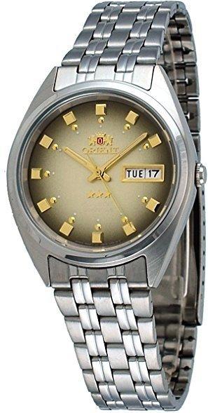 Reloj automático Orient 3 Star FAB00009P Dial marrón correa acero
