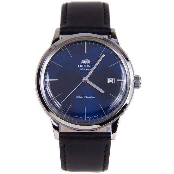 reloj hombre automático Orient Bambino FAC0000DD dial azul correa cuero