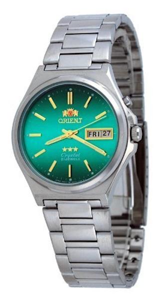 reloj hombre automático Orient Tristar FEM5M012F verde acero