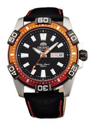reloj hombre automático Orient Marine Sporty FEM7R005B correa cuero