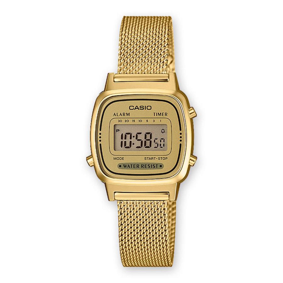 Reloj CASIO VINTAGE gold de acero la670wemy-9ef