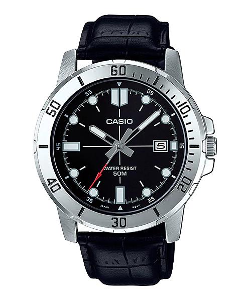 Reloj analogico caballero CASIO MTP-VD01L-1EV correa de piel