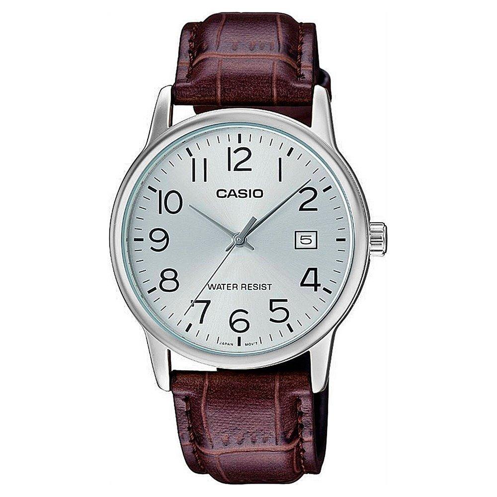 Reloj caballero analogico Casio MTP-V002L-7B2 piel cuero