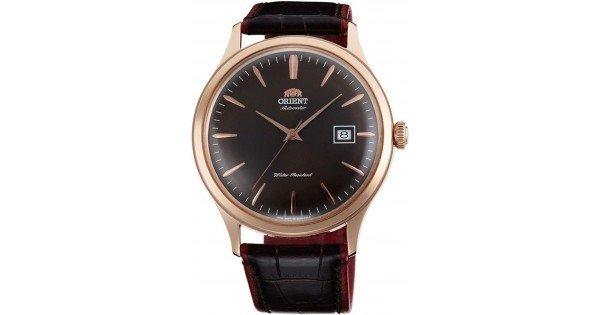 reloj hombre automático Orient Bambino FAC08001T  oro rosa cuero