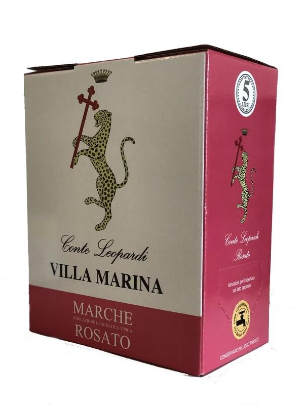VILLA MARINA ROSATO 2020 Marche IGT Rosato Bag in Box 5 Litri