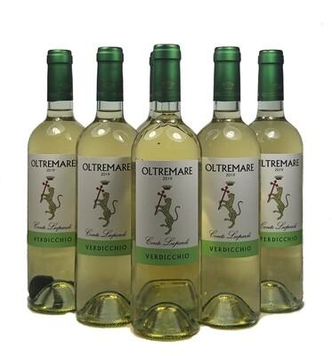 OLTREMARE Verdicchio dei Castelli di Jesi DOC 2019  Confezione da 5 bottiglie +1 (omaggio)