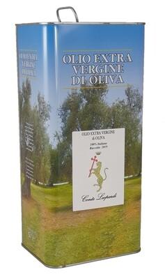Olio Extra Vergine di Oliva 2019 - 1 Latta da 5 Litri