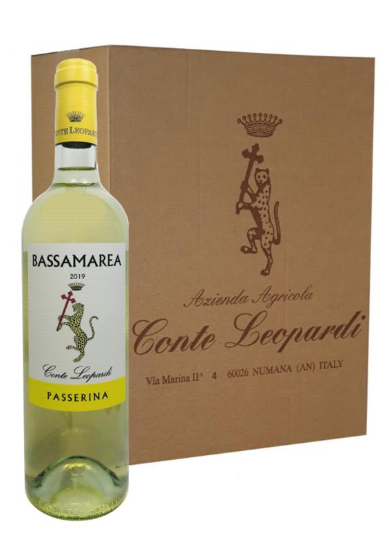BASSAMAREA Marche Passerina Igt 2019 - Confezione da 6 Bottiglie