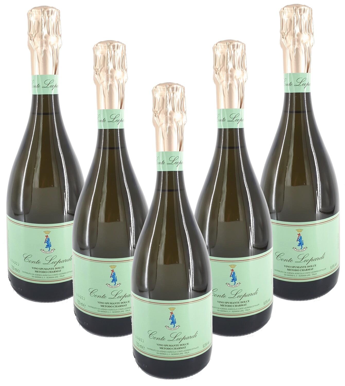 Spumante Dolce Conte Leopardi Confezione da 6 Bottiglie