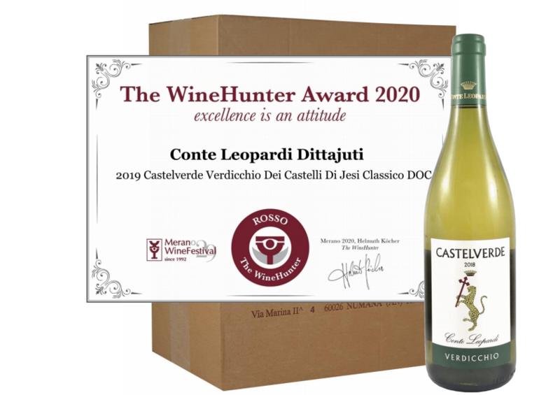 CASTELVERDE Verdicchio 2019 - Confezione da 6 bottiglie