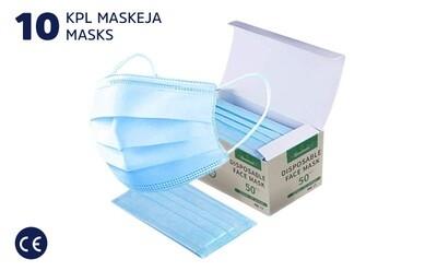 PROTECTIVE MASK - 10 PCS