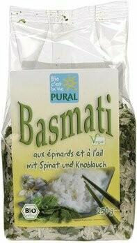Basmati Spinat-Knoblauch, 250 g