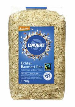 Echter Basmati-Reis weiß, demeter, 500 g