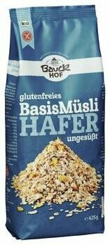 Hafer Müsli Basis, glutenfrei, 425 g