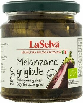 Auberginen geröstet in Olivenöl, 280 g