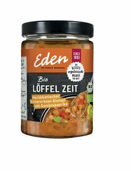 Löffel Zeit - Marokko | Kichererbsen-Eintopf mit Gemüsepaprika, 550 g