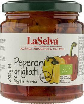 Paprika geröstet in Olivenöl, 280g