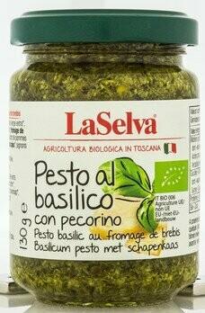 Pesto Basilikum mit Schafskäse 100% Olivenöl, 130 g