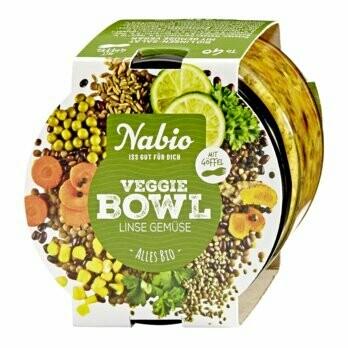 Veggie Bowl Linse Gemüse, 235 g