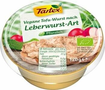 Brotaufstrich Wie Pfälzer Leberwurst, 120 g