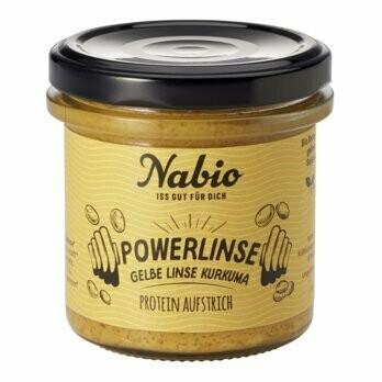 Protein-Aufstrich, Powerlinse Gelbe Linse Kurkuma, 140 g