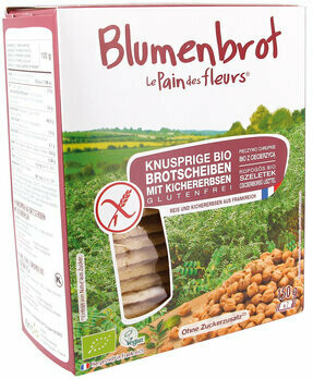 Knusprige Bio Kichererbsen-Schnitten, 150 g