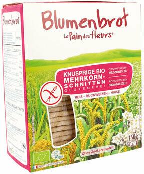 Knusprige Bio Mehrkorn-Schnitten, 150 g