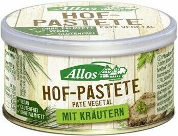 Hof Pastete Kräuter, 125 g