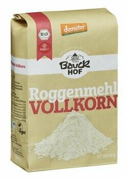 Lichtkorn Roggenmehl Vollkorn demeter, 1 kg