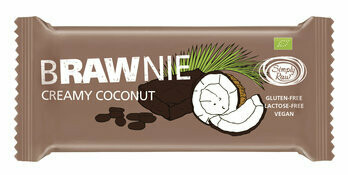 Brawnie, Cremige Kokosnuss, 45 g