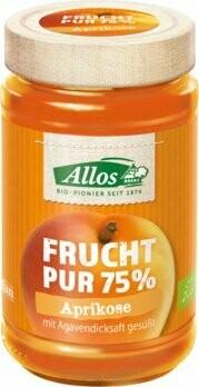 Frucht Pur 75% Aufstrich, Aprikose, 250 g