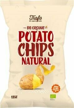 Kartoffel-Chips gesalzen, 125 g